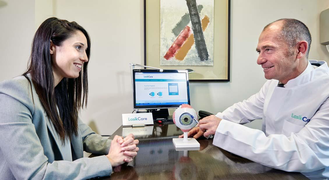 Die LASIK Augenlaserkorrektur