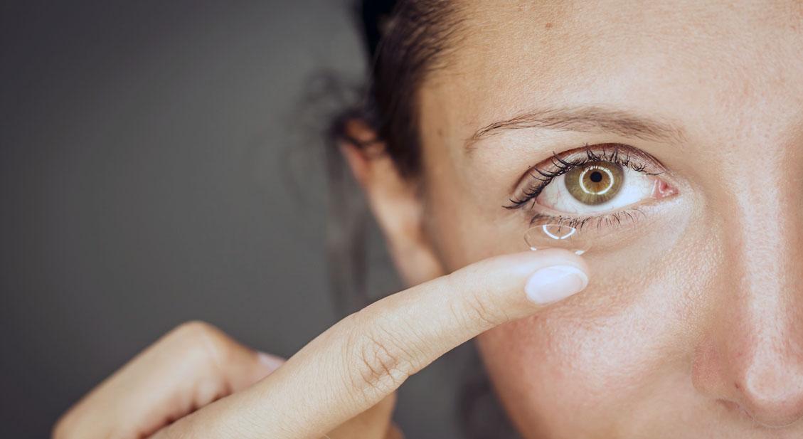Schluss mit Kontaktlinsen-Problemen