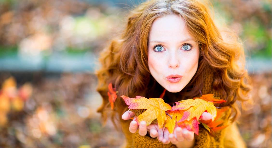 Gesunde Augen im Herbst