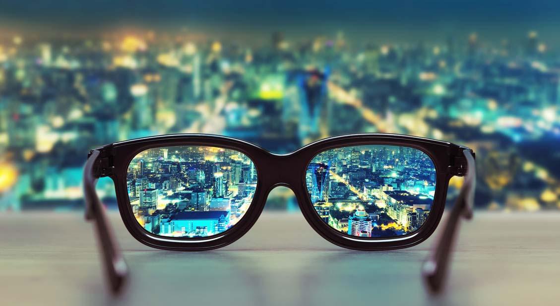 Unscharfe Sicht in der Ferne Muss das Kurzsichtigkeit sein