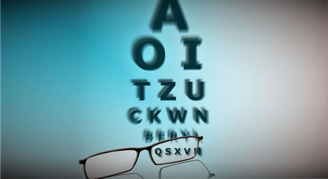 Die Messung der Sehschärfe: Optotypen